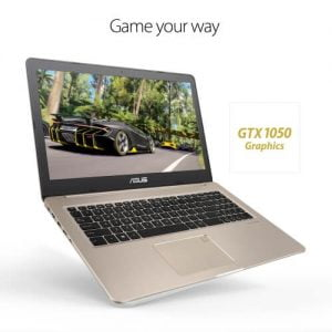 Asus VivoBook Pro 15 N580GD Intel 8th Gen Core i5-8300H(256GB SSD+4GB Graphics+Genuine Win 10) 15.6″ FHD Laptop