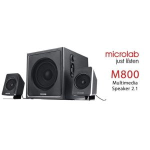 Microlab M800 (2.1) Multimedia Black Speaker
