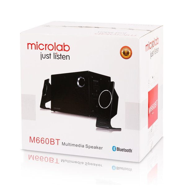 Microlab M660BT 2:1 Multimedia Bluetooth Speaker