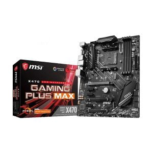 MSI X470 Gaming Plus Max RGB AMD Motherboard