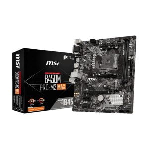 MSI B450M PRO-M2 MAX AMD AM4 Gaming Motherboard